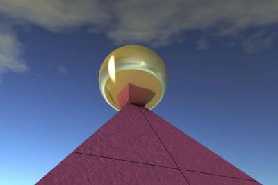 keopsesfera - La gran pirámide estaba coronada por una esfera