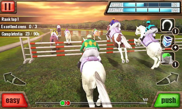 Download Horse Racing 3D v1.0.3 Mod Apk For Android