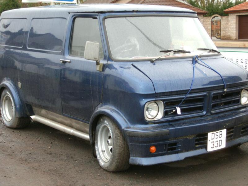 Bedford CF2 Van: ebay: 1987 Cu...