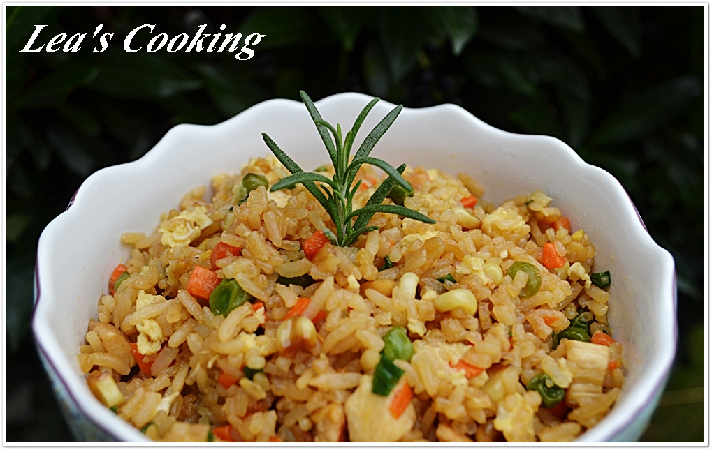 Lea 39 s cooking better than takeout chicken fried rice for Asia cuisine ulm