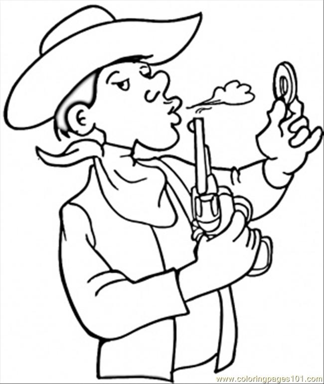 Printable Cowboy Coloring Pages Lets Coloring And Cowboy Coloring Pages Printable