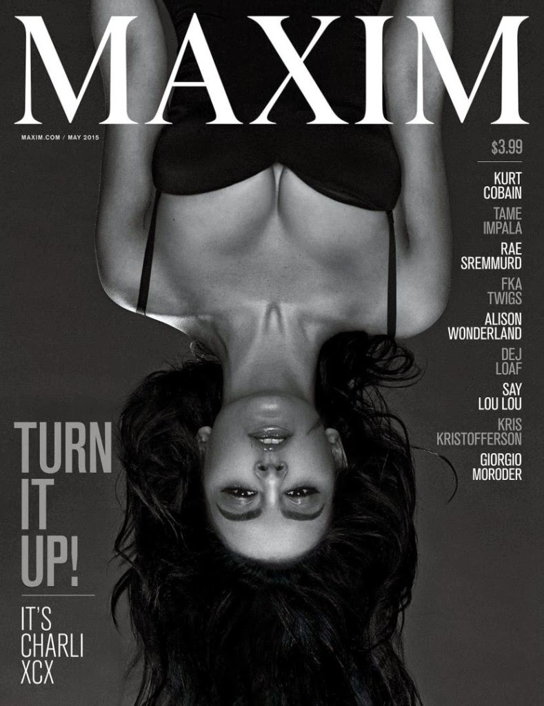 Singer-Songwriter @ Charli XCX - Maxim Magazine, May Issue 2015