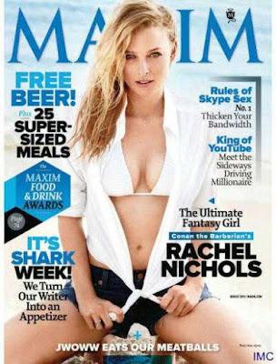 Rachel Nichols Maxim USA Agosto 2011