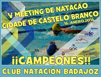 V Meeting de Natação Cidade Castelo Branco.