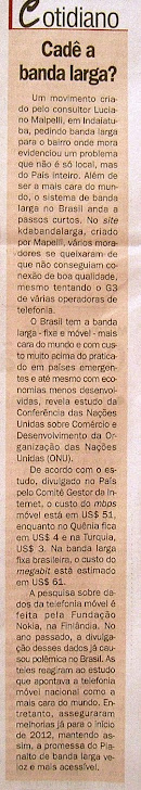 Jornal Tribuna de Indaia 20/12/11