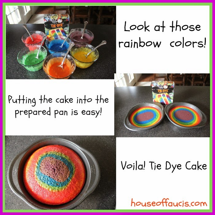 Dye Cake The Duff Tie-dye Cake Mix