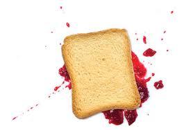 bread falls butter-side down