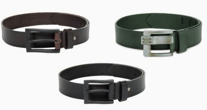 Buy 1 Get 1 Free Offer on Roadster Men's Leather Belt + Extra 40% Off @ Myntra (Get 2 Leather Belts just for Rs.377 Only) Free Home Delivery