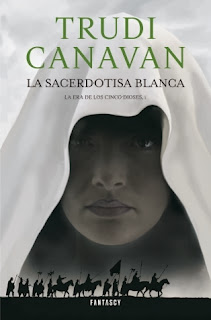 La sacerdotisa blanca de Trudi Canavan
