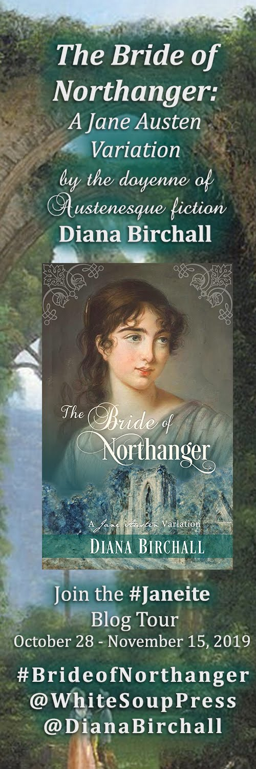 Blog Tour - The Bride of Northanger by Diana Birchall