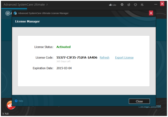 Advanced SystemCare Ultimate 7.3.0.454 Full Serial Crack Keygen