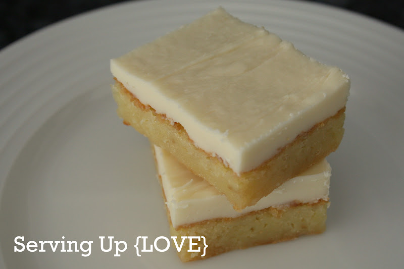 ... Kitchen: Serving Up {Brownies}: White Chocolate Brownie Decadence