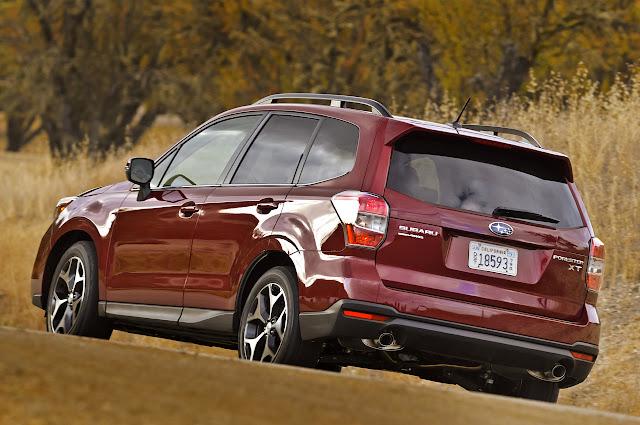 фото Subaru Forester 2014 года