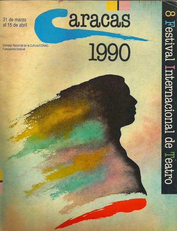 VIII Festival Internacional de Teatro de Caracas 1990