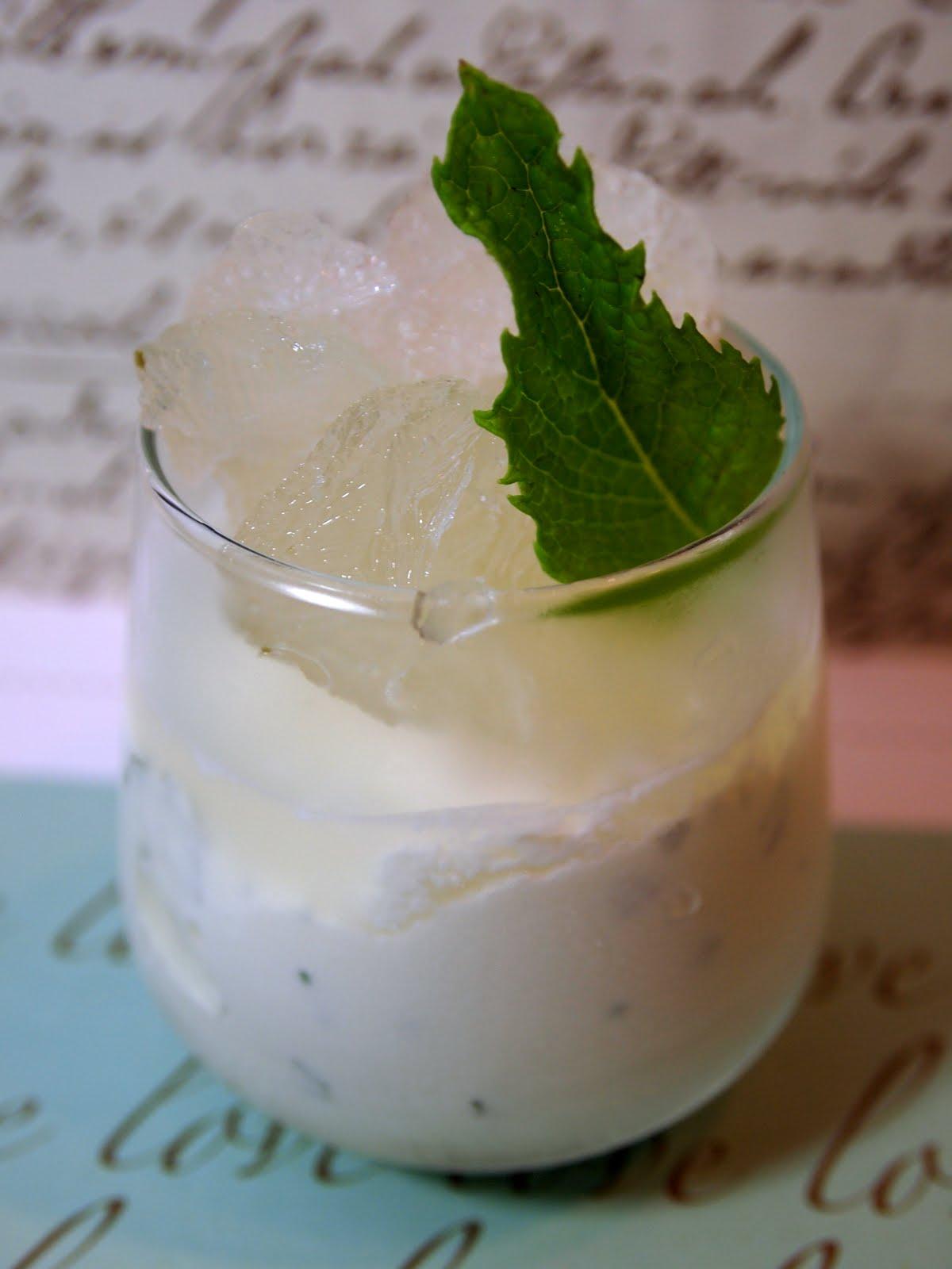 fla-vor-ice || lemon mint granita