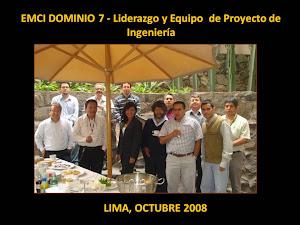 LIMA, PERÚ, OCTUBRE 2008