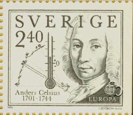 Perangko Andres Celsius