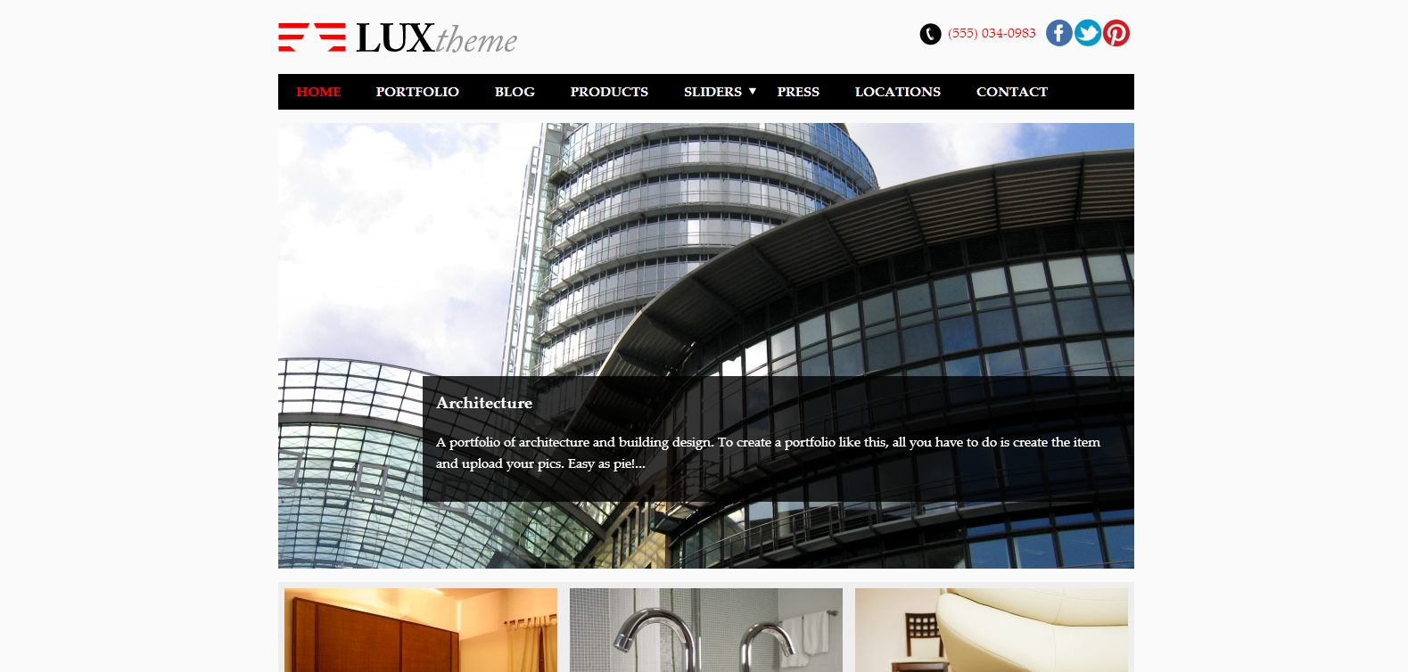 Lux WordPress Theme