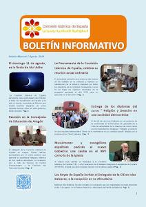 Boletín de la CIE agosto 2019