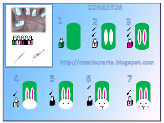 rabbit nails tutorial