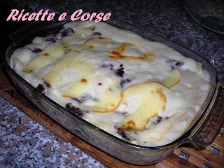 lasagne al forno con radicchio rosso di chioggia e scamorza affumicata