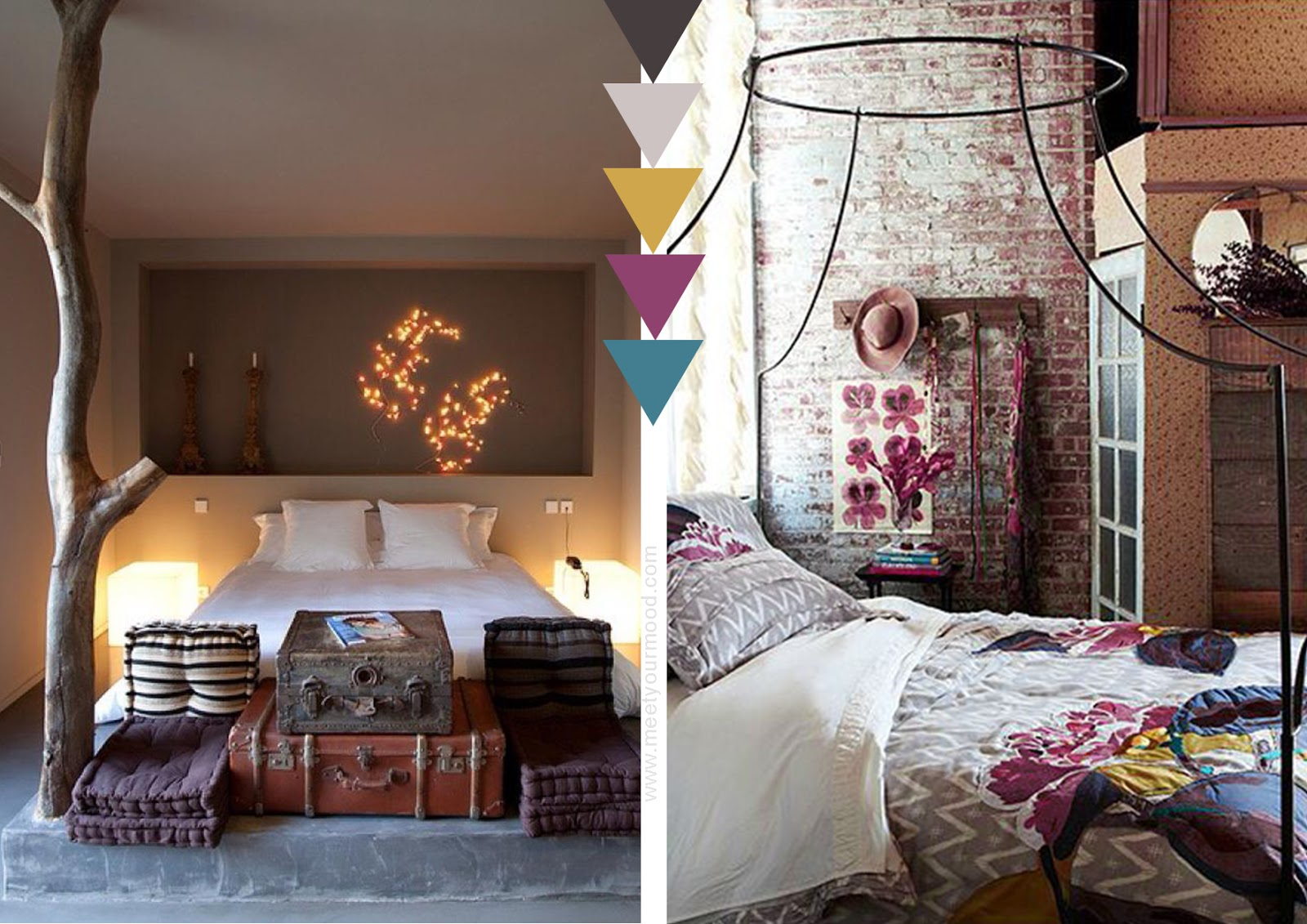 per una casa wild at heart MOOD con tendenza boho in poche, semplici ...