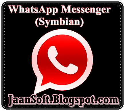 Download:-  WhatsApp Messenger 2.11.561 SiS For Symbian Full Version