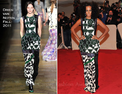 Dries Van Notten - Solange Knowles - iloveankara.blogspot.co.uk