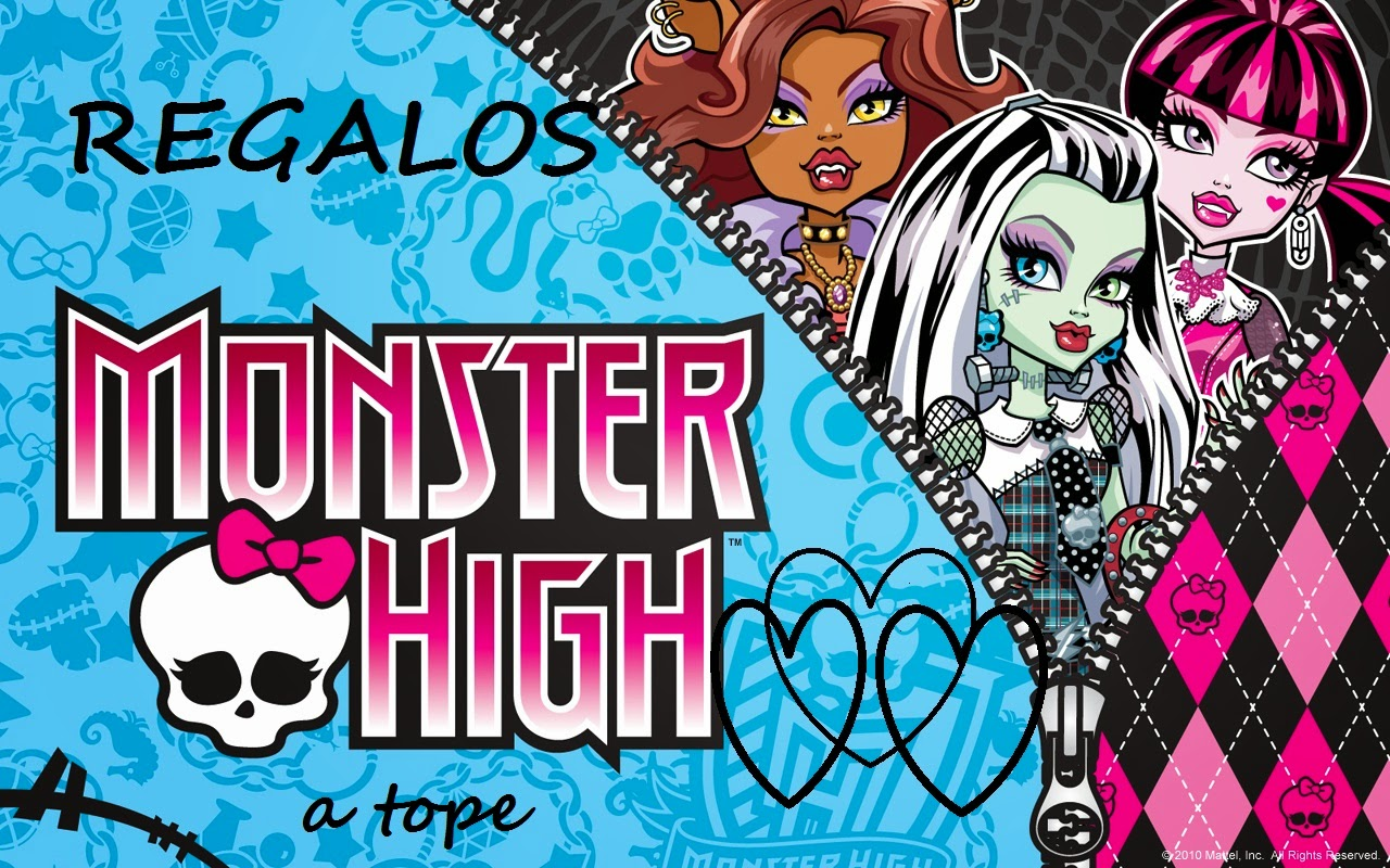 REGALOS PARA LAS MONSTER HIGH