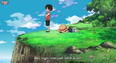 Kata bijak anime one piece luffy portgas d ace