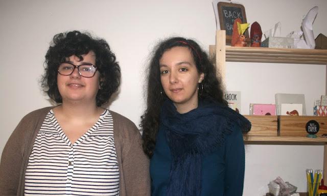 Mafalda e Catarina aka Nuts for Paper