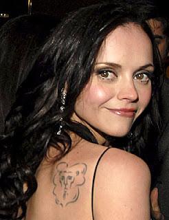 Christina Ricci Tattoos Designs