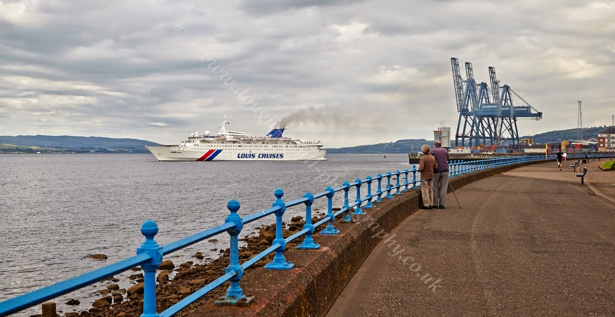 Dougie Coull Photography Cruise Ship Louis Aura At Greenock - Cruise ships at greenock