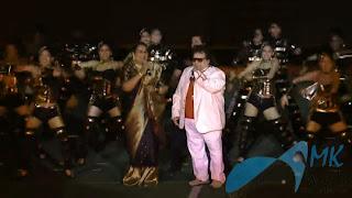 Usha Uthup and Bappi Lahiri Performing