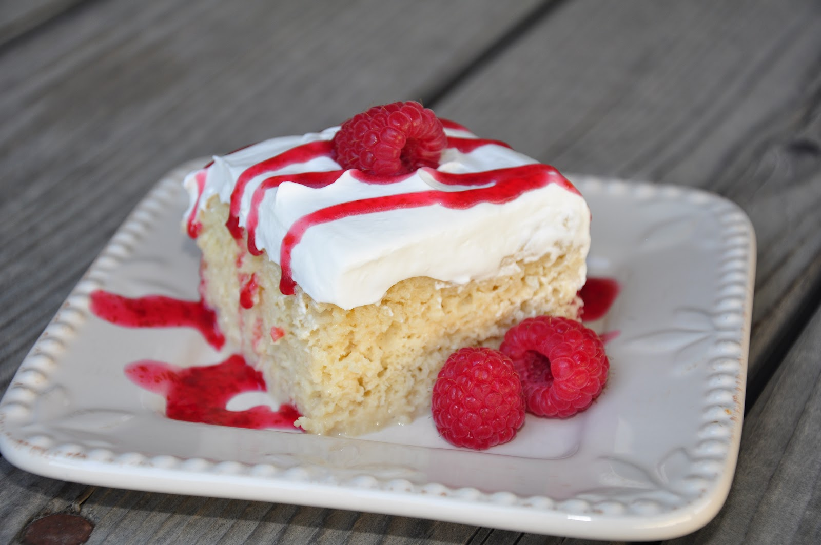 The Changeable Table: Tres Leches Cake