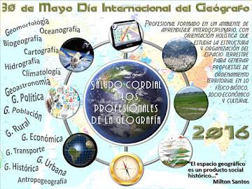 30 de mayo Día Internacional del Geógrafo
