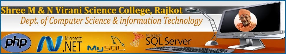 Shree M. &amp; N. Virani Science College <br>Dept. Of Computer Science &amp; Technology <br> Rajkot
