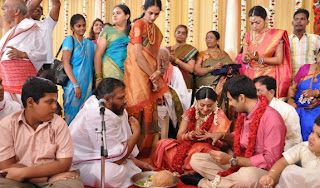 Sneha and Prasanna Engagement Stills