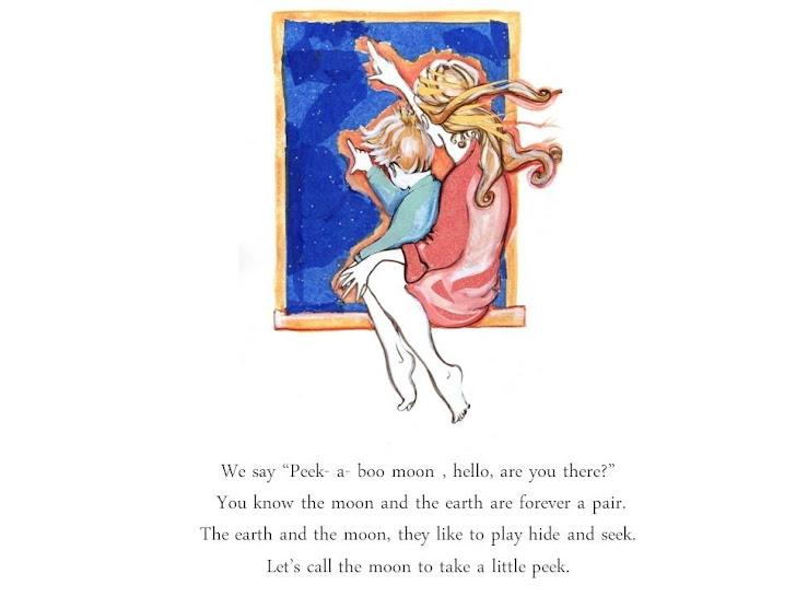 Peekaboo Moon a Bedtime Story