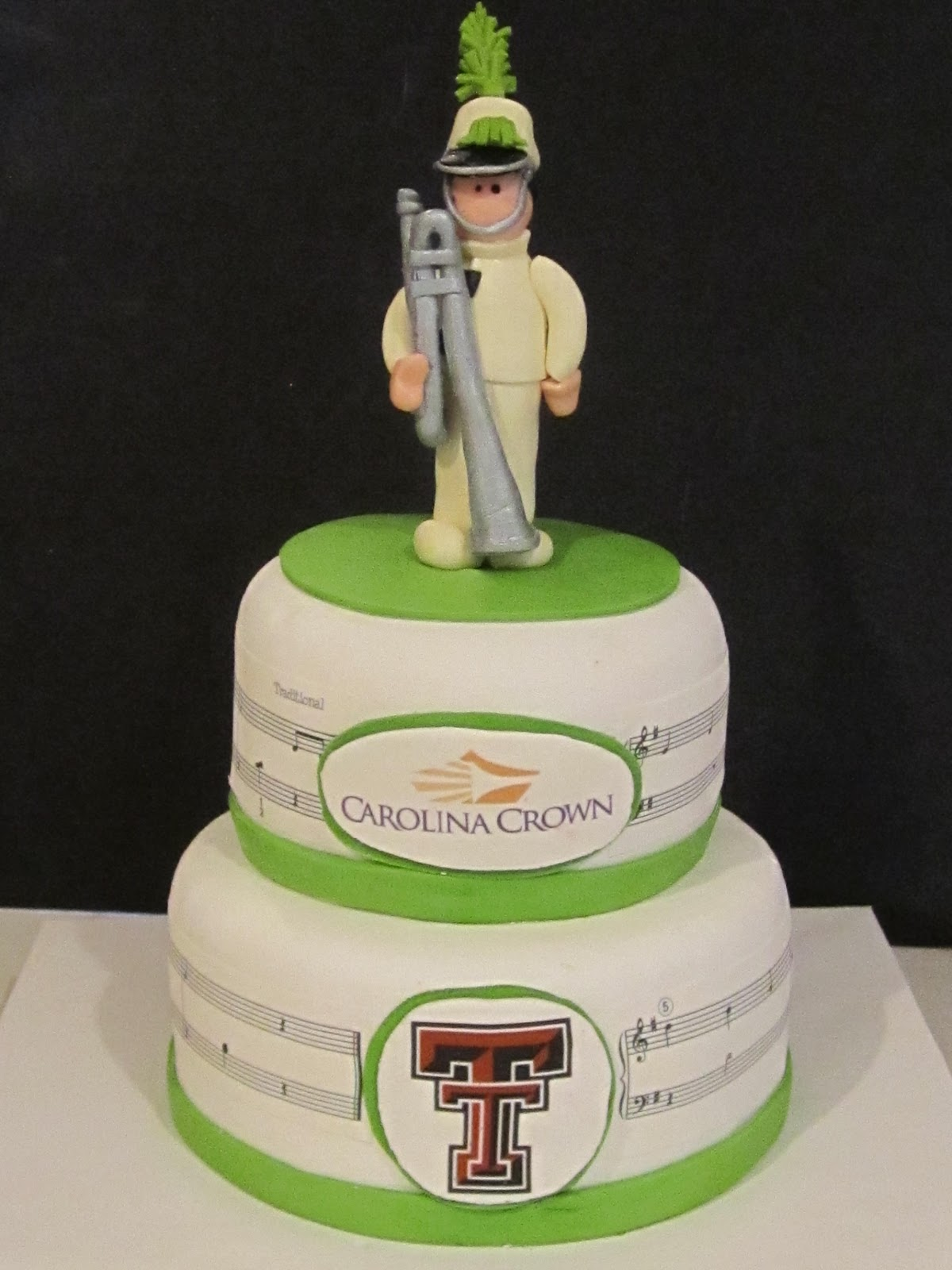Frosted Insanity Carolina Crown Birthday Cake