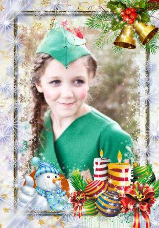 navidad marcos foto