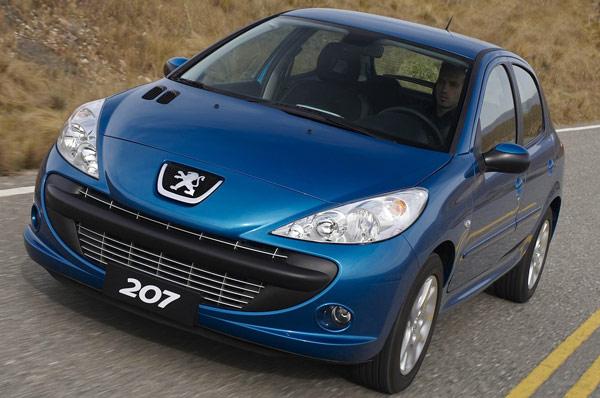 auto Peugeot 207 HB 2013