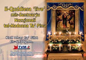 HOLY MASS IN MALTESE - LIVE - EVERY SATURDAY EVENING AT 6.30PM  GMT+1 (GMT+2 summer time)