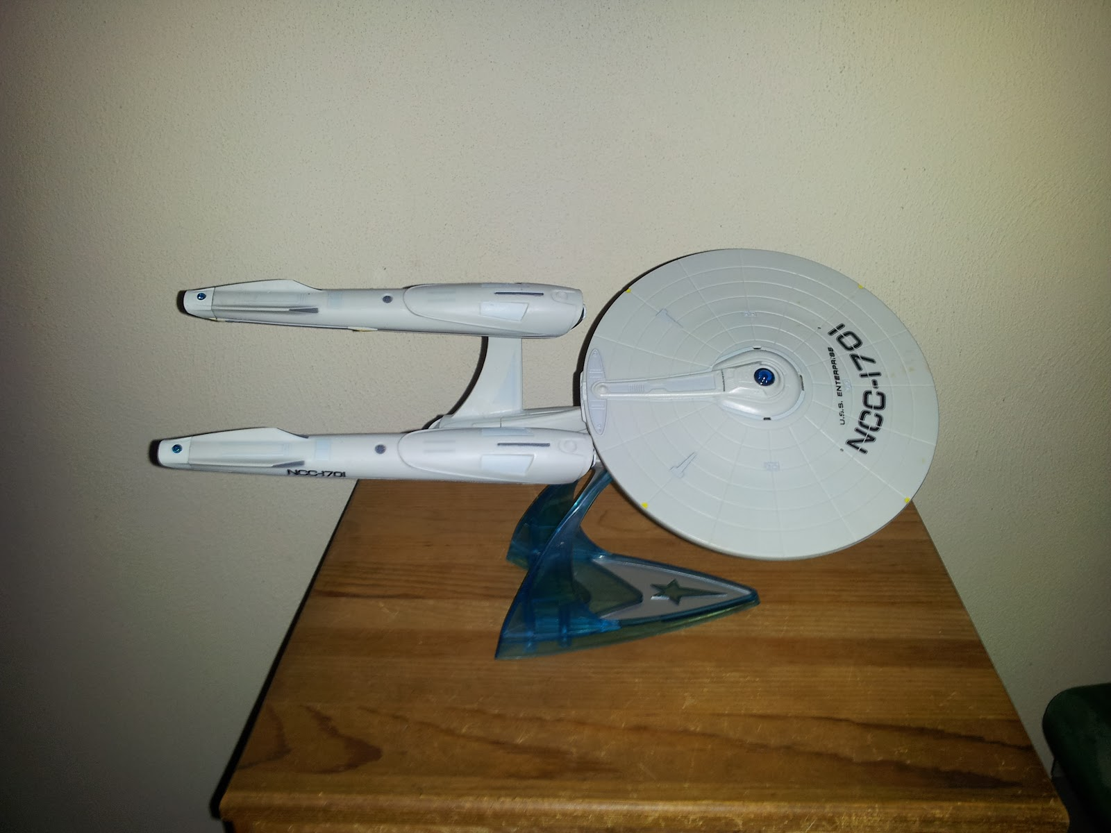 star trek 2009 enterprise toy es collection of things