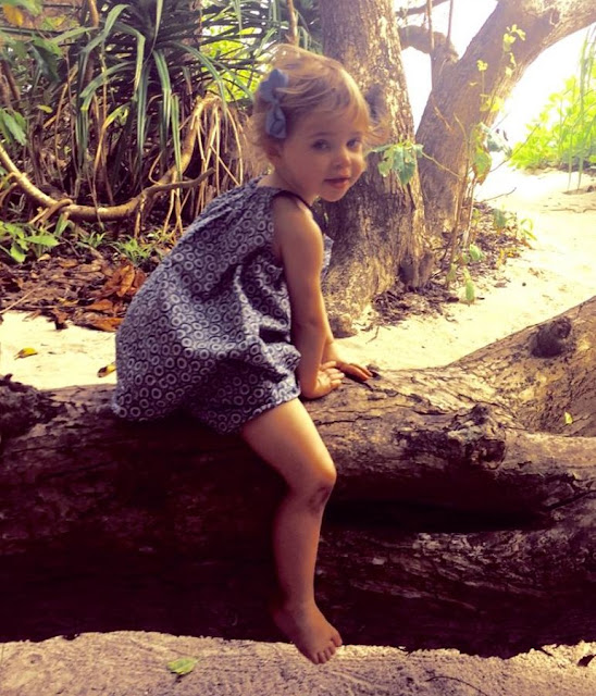 Princess Madeleine of Sweden shared in her Facebook account new photos taken during Christmas holiday at at Soneva Fushie in Maldives with her children Princess Leonor and Prince Nicholas.