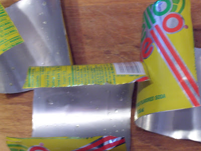 how to get sticky labels off metal