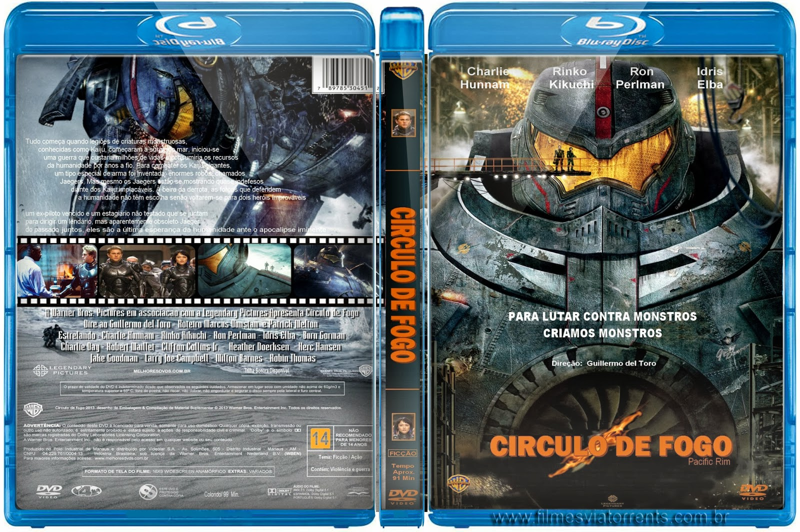 Círculo De Fogo,Pacific Rim Blu-ray Torrent