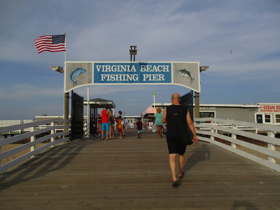VIRGINIA BEACH BOARD WALK