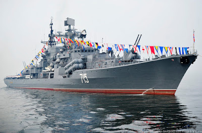 kapal destroyer Rusia Bystry