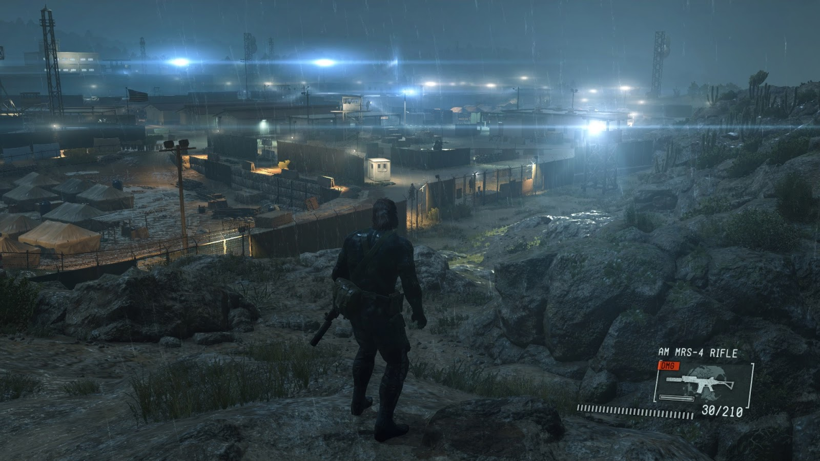 Metal Gear Solid V Ground Zeroes First PC Screenshots